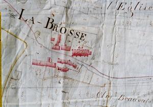 Cadastre 1813 - Eglise