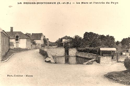 La mare et le puits, Rue Grande 1910