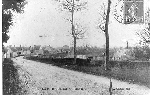 Le Clos Paradis 1910 La Brosse Montceaux