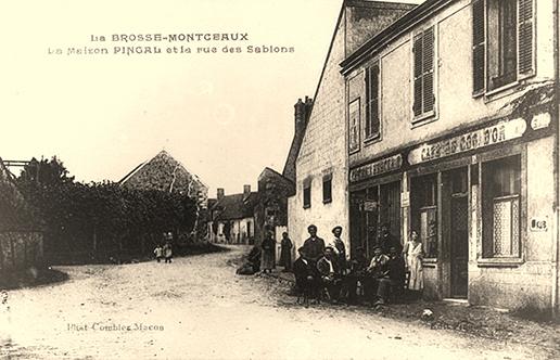 Maison Pingal, rue des Sablons 1905