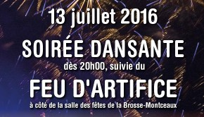 Affiche feu dartifice 2016