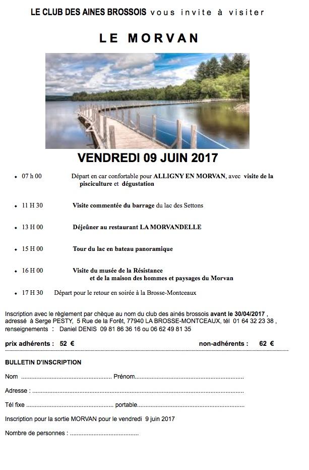 Lac des Settons 2017